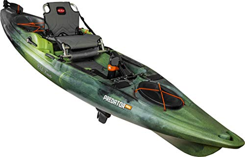 Old Town Canoes & Kayaks Predator Pedal Fishing Kayak with Rudder (First Light, 13 Feet 2 Inches)