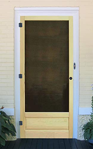 - Premium Wood Screen Door by Coppa Woodworking (Model 3610) - Many Wood Types & Sizes Available