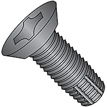 Pack of 25 Pack of 25 Small Parts 1110FPF410 5//8 Length Phillips Drive 410 Stainless Steel Thread Cutting Screw Plain Finish Type F 82 Degree Flat Head 5//8 Length #10-32 Thread Size