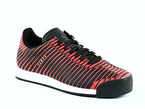 Adidas SAMOA PLUS Men's Sneakers Athletic Shoes Black/Red