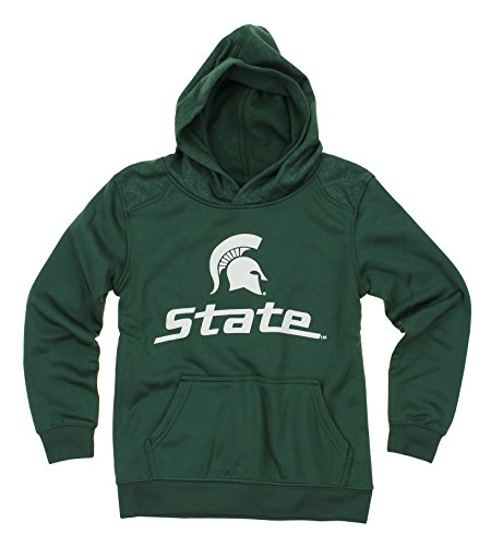 Outerstuff NCAA Big Boys Youth Performance Hoodie (8-18), Michigan State Spartans