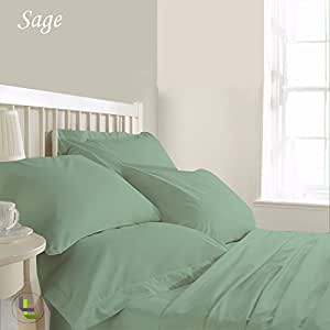 Solid Pattern 9 inches Deep Pocket 6 Piece Sheet Set 100% Egyptian Cotton 450 Thread Count ( Twin XXL , Peach ) .