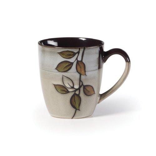 Pfaltzgraff Rustic Leaves Mug, 12-Ounce