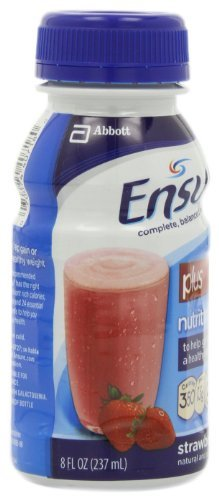 Ensure Plus Nutrition Shake, Strawberry, 8-Ounce Bottle (Pack of 48) by Ensure (Image #8)
