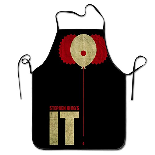 Women's Apron - Vintage Stephen King IT Kitchen And Cooking Apron, Durable Stripe For Cooking, Grill And Baking