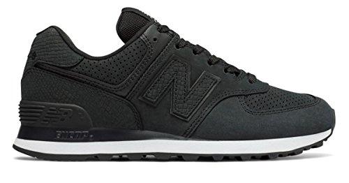 (ニューバランス) New Balance 靴?シューズ レディースライフスタイル 574 Serpent Luxe Black ブラック US 7 (24cm)