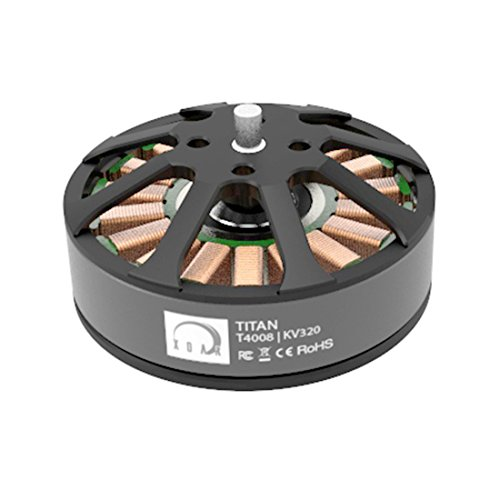 XOAR Titan T4008 320KV Heavy Lifting Brushless Electric Motor T4000 Series for RC Multicopter Multi-Rotor Quadcopter (2 pcs)