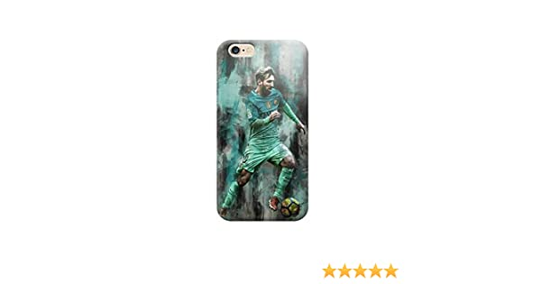 Funda Carcasa Cover TPU para Todos los Modelos de Apple iPhone x 8 7 6 6 Plus 5 5s 4 4s 5c si - H02 Messi regatea, iPhone 8