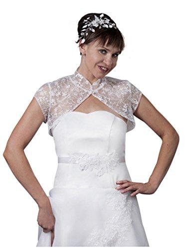 MGT-Shop - Torera - bolero - para mujer ivory/creme