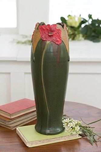 Canyon Poppy (Ephraim Faience Pottery)