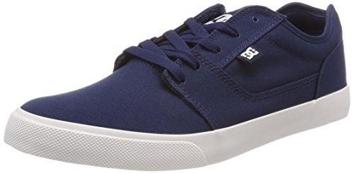 Pour Hommes Tonik Chaussures Tx Blanc Skateboard Bleu Marine De SABqaBgv