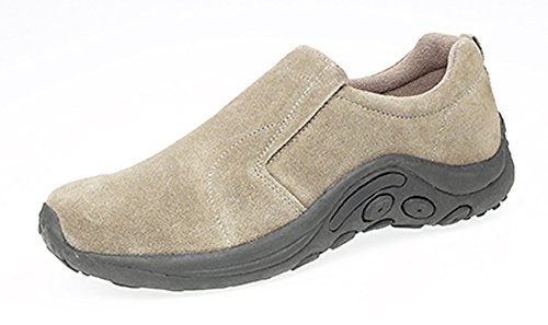 On Slip Casual Real Size Suede 14 5 Shoes Mens Taupe EqtInwxZgE