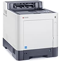 Kyocera 1102NT2US0 ECOSYS P7040cdn Color Network Printer, 42 ppm Color & Black, USB, Standard Duplex, Gigabit Ethernet & 600 Sheet Paper Capacity (Max 2100), Standard 512 MB Memory Upgradable to 2 GB