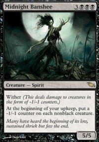 Midnight Cape Adult Black (Magic: the Gathering - Midnight Banshee -)