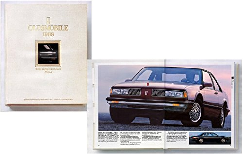 1988 OLDSMOBILE FULL-SIZE: TORONADO, NINETY EIGHT REGENCY, DELTA 88 ROYALE & CUSTOM CRUISER PRESTIGE COLOR SALES BROCHURE: - USA - GORGEOUS ORIGINAL (Oldsmobile Full Line Sales Brochure)