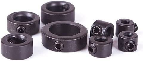 Profusion circle 8pcs Woodworking Drill Bit Depth Stop Collars Ring Positioner Locator Durable Dia 3-16mm