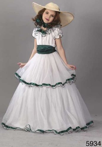 Child Southern Belle Costume (Southern Belle Costume For Kids)