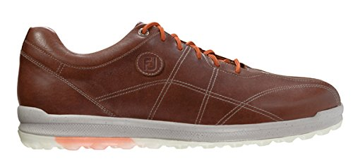 FootJoy Versaluxe Casual Spikeless Golf Shoes Brown 9.5 Medium