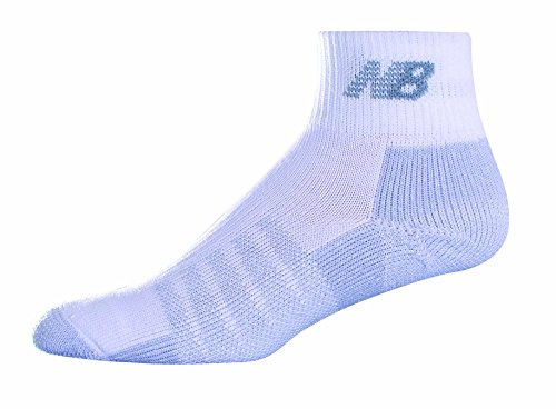 New Balance Unisex 2 Pack Quarter with Coolmax Socks