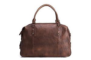 Jellybean Gorilla Vintage Top Grain Handmade Leather Travel Bag Duffle Bag Holdall, Weekender Bag, Messenger Bag, Briefcase Laptop, Shoulder Bag, Men Handbag