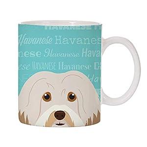 Adorable Dog Breed Design 11oz Ceramic Coffee Mug (Havanese) 1