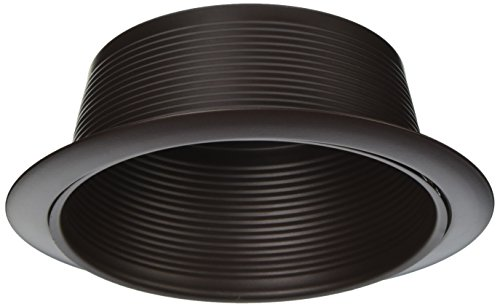 NICOR Lighting 6-Inch Baffle Lighting Trim, Oil-Rubbed Bronze (17510OB-OB)