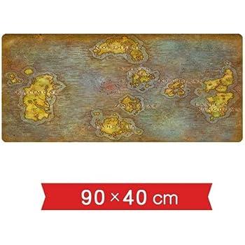 Amazon.com: DMWSD Wow Game Map Azeroth Broken Earth Eastern ...