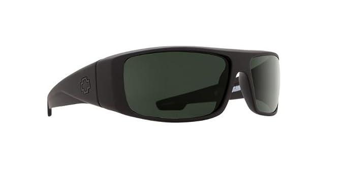 c7b34b8921 Spy Optics Sunglasses - Logan   Frame  Matte Black Lens  Grey ...