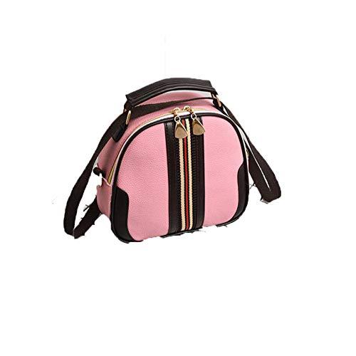 Sac Nouvelle Sac Simple pour Dos Pink L'Épaule Dos À du shuangjian À Coréenne Version Femme À Femme Sac Diagonal PBwq0