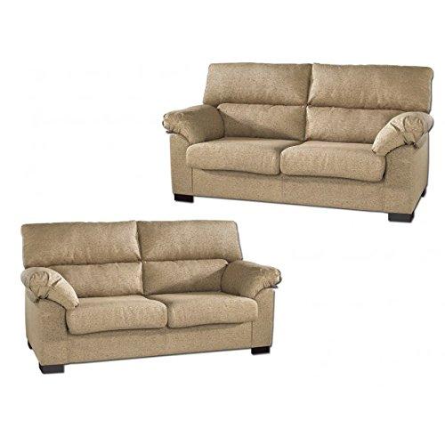 SHIITO Conjunto de sofás Tres más Dos plazas tapizados en ...