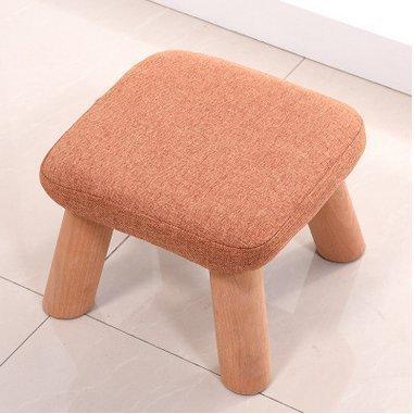 panno creativa di svago sgabello in legno massello Cambiare le scarpe feci solide scarpe di legno sgabello sgabello per bambini Divano Sgabello sgabello basso YYdy-Small wooden stool ( colore : (two) Blue )