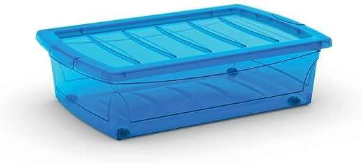 KIS 8631000 0188 04 Spinning Box - Caja de almacenaje de plástico Azul, 30 l: Amazon.es: Hogar