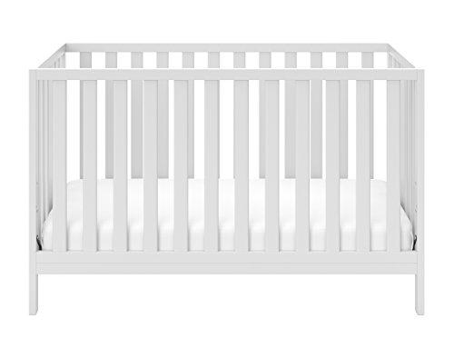 Storkcraft Pacific Convertible Crib White