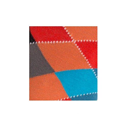 Mi En Orange Coton Achile Intarsia chaussettes TUfqw7wA6