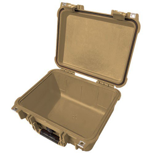 割引発見 1400 - Case Case 11.81X8.87X5.18In Tan No by Fm - by Pelican B001P63Y56, Heartful:0539f7e7 --- efichas.com.br