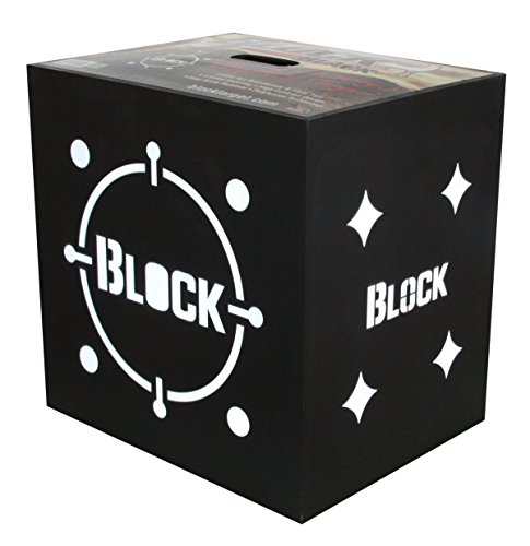 Field Logic Block Crossbow 20 Target, Black (Best Archery Block Target)