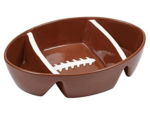 Football Three Section Platter