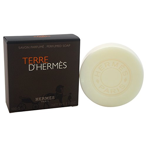 (Hermes Terre D' Hermes By Hermes For Men Perfumed Soap, 3.5-Ounce / 100 G)