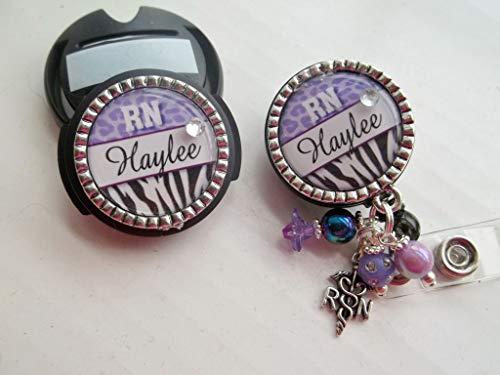badge reel holder animal print gifts badge reel nurse personalized gifts for nurses Badge reel personalized animal print badge reel