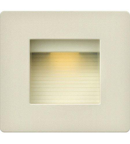 Outdoor Accessory 1 Light With Light Almond Zinc-Aluminum Alloy LS-20 5 inch 4 Watts