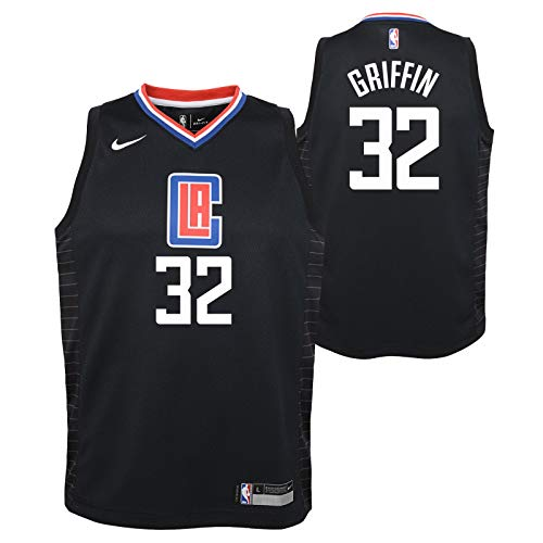 Outerstuff Blake Griffin Los Angeles Clippers NBA Nike Youth Black Statement Swingman Jersey - Los Angeles Clippers Swingman Jersey