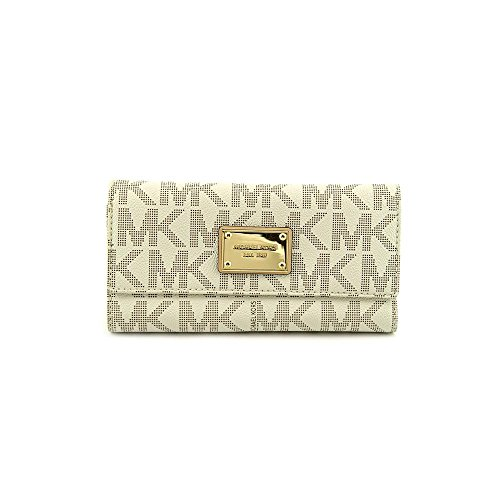 Michael Michael Kors Womens Mk Jet Set Checkbook Wallet by Michael Kors