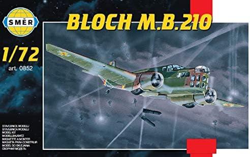 セマー 1/72 ルーマニア空軍 ブロシュMB210双発爆撃機 プラモデル SME72852 (メーカー初回受注限定生産)