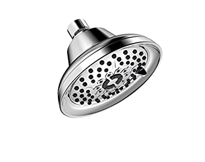 Aqua Elegante Massage & Mist Shower Head - Great High Pressure, Multi-Function, Wall Mount, Adjustable Showerhead