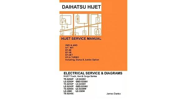Daihatsu Hijet English Electrical Service Manual S200p S210p ... on