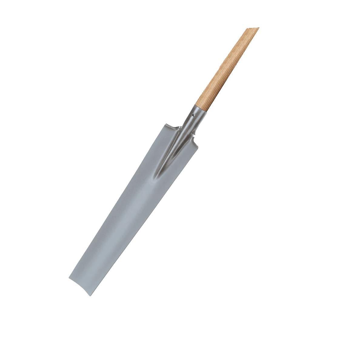 Argent 85 x 55 cm Idealspaten 21110203 Gloria B/êche de Drainage Poudre rev/êtue avec h/être-T-Tige