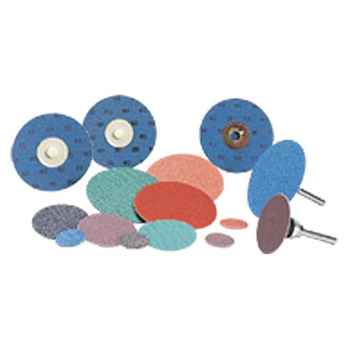 2''-120 Grit - Power Zirc - Roll-On Quick Change Disc (Pack of 100)