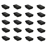SODIAL(R) 20x Battery Pack Cover Shell Case Kit for Xbox 360 Wireless Controller Black New