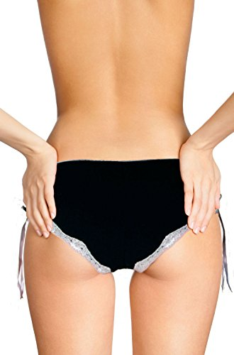Cool Lace Panties | I want my boyfriend | Innovative gift. Birthday present. Gift Idea. Novelty item. Negro