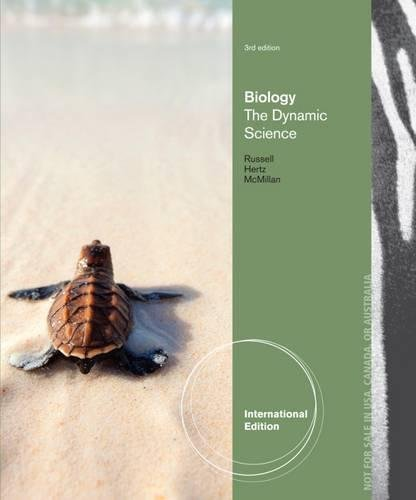 Biology: The Dynamic Science, International Edition